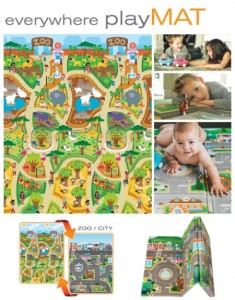 Prince Lionheart - everywhere playMAT 7765 city/zoo