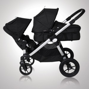 "Baby Jogger CITY SELECT Double - wersja ""ROK PO ROKU"" charcoal, onyx"