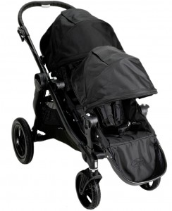 Baby Jogger CITY SELECT Double - wersja  spacerowa - charcoal, onyx