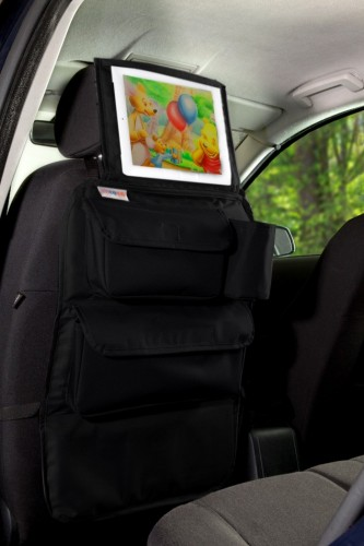 Tuloko Organizer Podróżnika Na Fotel Samochodu Z Oknem Na Tablet Czarny