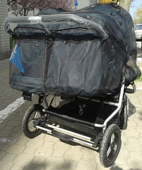 Baby Jogger Moskitiera Do W 243 Zka City Mini Double Gt
